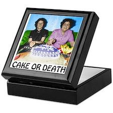 Cake or Death Keepsake Box