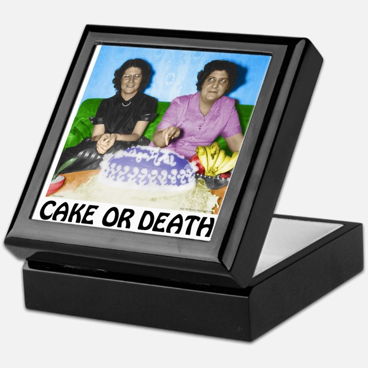 Cake or Death Keepsake Box
