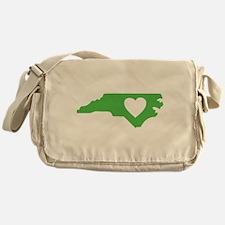 I Love North Carolina Messenger Bag