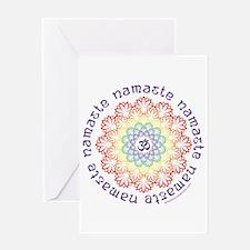 Namaste Lotus Greeting Cards