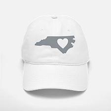 I Love North Carolina Baseball Baseball Cap