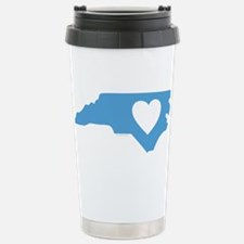 I Love North Carolina Stainless Steel Travel Mug