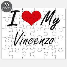 I Love My Vincenzo Puzzle