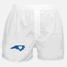 I Love North Carolina Boxer Shorts
