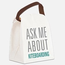 Kiteboarding Canvas Lunch Bag