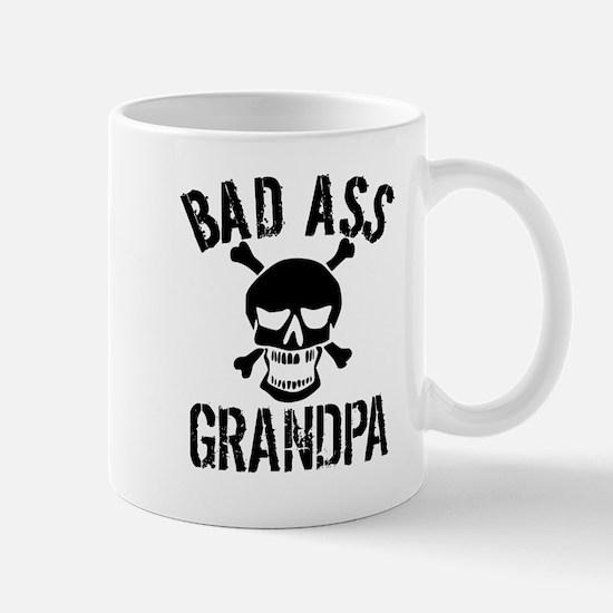 Bad Ass Grandpa Mugs