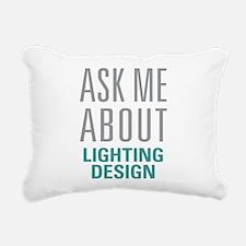 Lighting Design Rectangular Canvas Pillow
