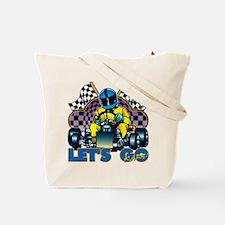 Let's Go Kart! Tote Bag