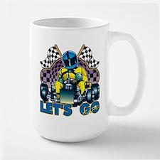Let's Go Kart! Large Mug