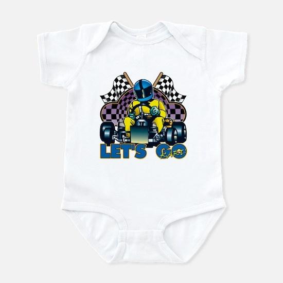 Let's Go Kart! Infant Bodysuit