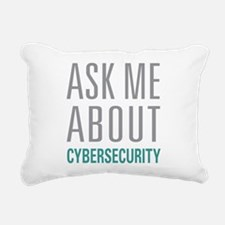 Cybersecurity Rectangular Canvas Pillow
