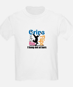 Gymnast on Bars T-Shirt