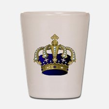 Unique Cross and crown Shot Glass