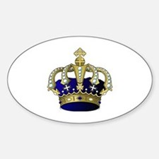Cute Royals Sticker (Oval)