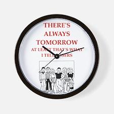 golf joke Wall Clock
