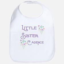 Little Sister Cadence Bib
