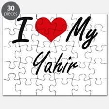 I Love My Yahir Puzzle