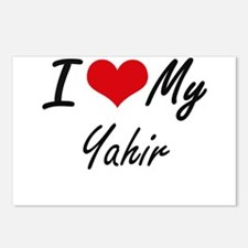 I Love My Yahir Postcards (Package of 8)