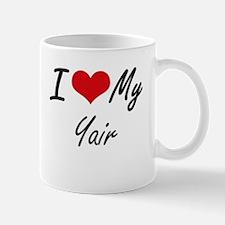 I Love My Yair Mugs