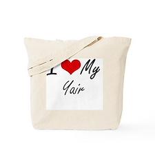 I Love My Yair Tote Bag