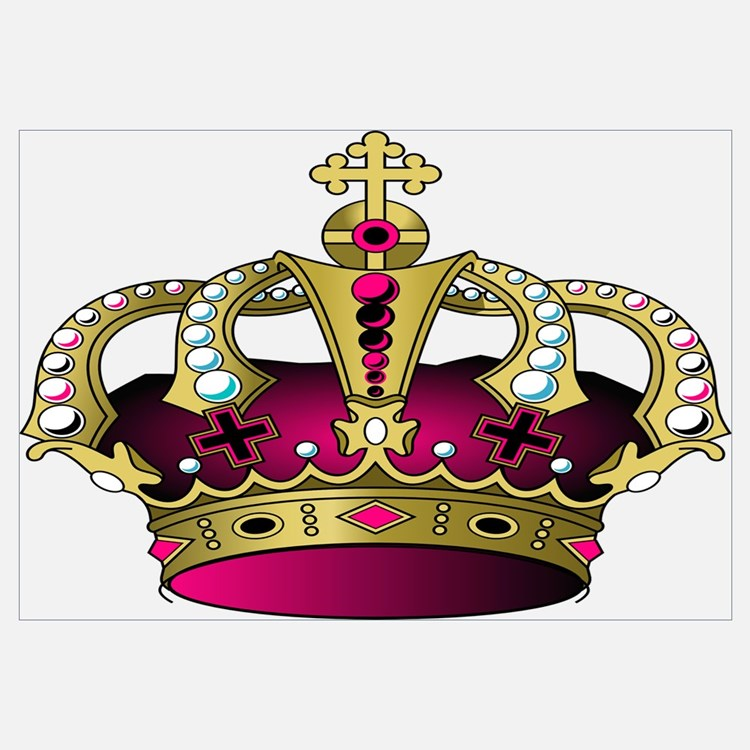 Black Crown Wall Decor : Royal crown wall decor black