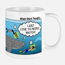 Whale Shark Thoughts Mug