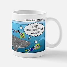 Whale Shark Thoughts Small Small Mug