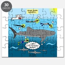 Whale Shark Thoughts Puzzle