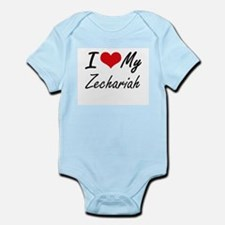 I Love My Zechariah Body Suit