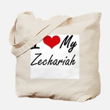 I Love My Zechariah Tote Bag