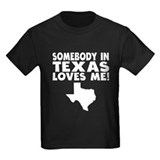 Someone in texas Kids T-shirts (Dark)