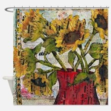 Beethoven Bouquet Shower Curtain