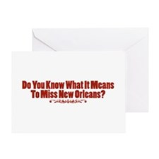 Do You Know What It Means To Miss New Orleans? Gre