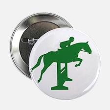 Hunter Jumper Fence Green Button