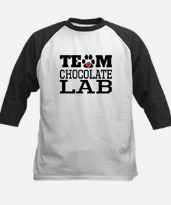 Team Chocolate Lab Baseball Jersey