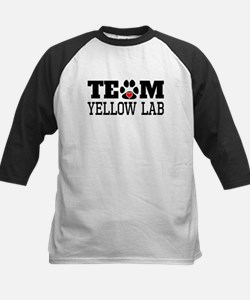 Team Yellow Lab Baseball Jersey