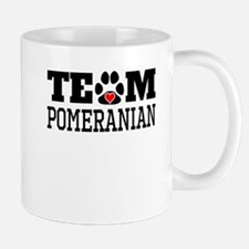 Team Pomeranian Mugs