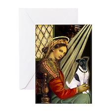 Madonna-FoxT 1 Greeting Card