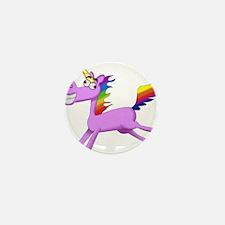 Crazy Unicorn Mini Button (10 pack)