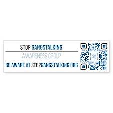 Gangstalking Awareness Bumper Bumper Bumper Sticker
