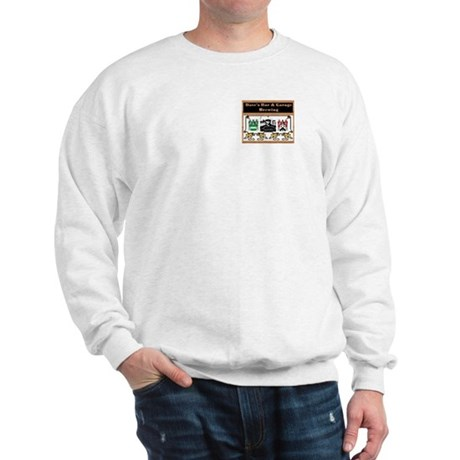 Sweatshirt - Logo on front, Galaxy on back