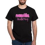 Snowmobile - It's a Girl Thing! Dark T-Shirt