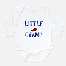 Cute Champ Long Sleeve Infant Bodysuit