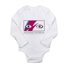 Cute Glitter Long Sleeve Infant Bodysuit