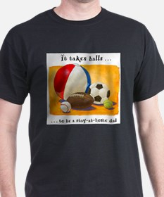 Cute Football dad T-Shirt
