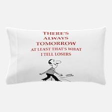 horseshoes joke Pillow Case