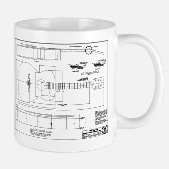 Luthiers Forum OM Plans Mugs