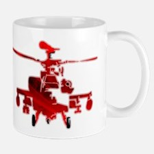 Helicopter Abstracted Mugs