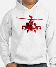 Helicopter Abstracted Hoodie