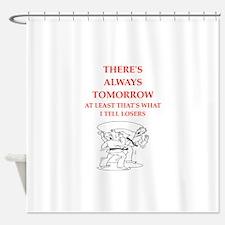 martiel arts joke Shower Curtain